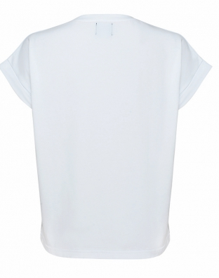 White t-shirt Clover
